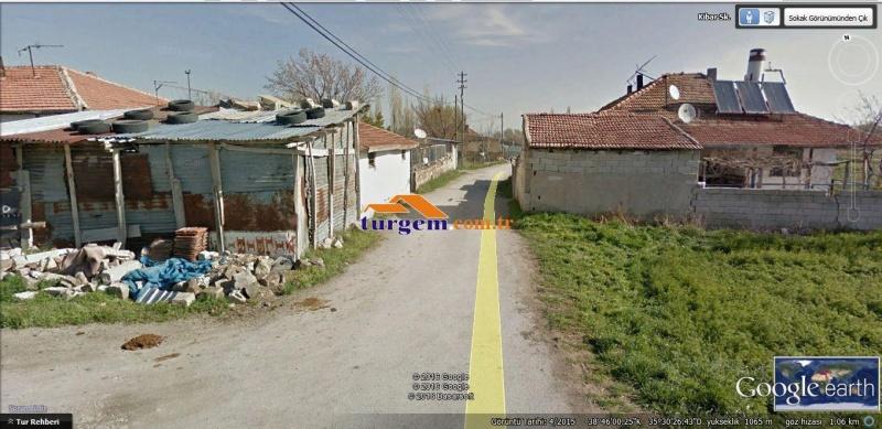 KAYSERİ KOCASİNAN SARAYBOSNA DA HAVAALANI YAKINI 308 M2 HİSSELİ SATILIK TARLA V 7837