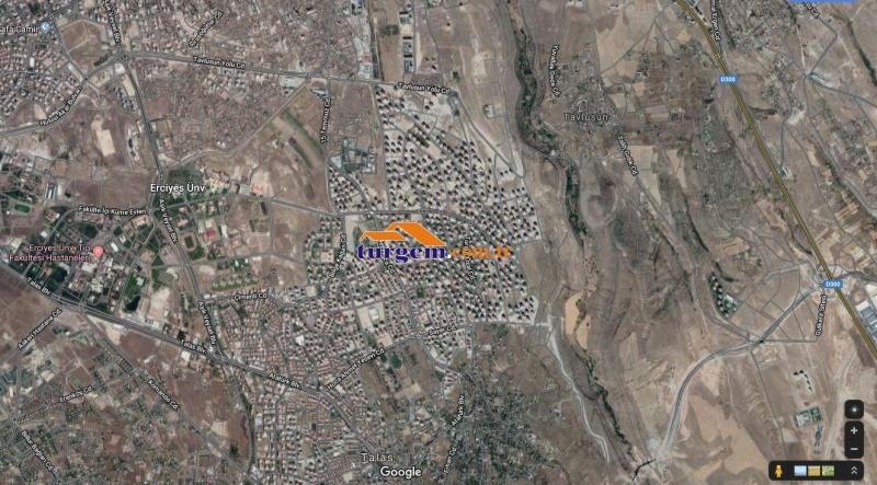 TALAS MEVLANA'DA 115 M2 ALANLI KİRACILI DÜKKAN V 10286