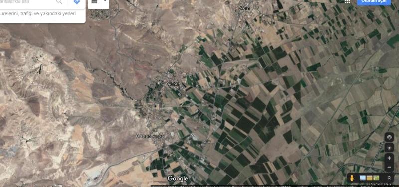 KOCASİNAN YAZIR'DA 17.746 M2 KADASTRO YOLU MEVCUT TARLA V 10712